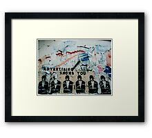 Advertising 'Thinks' It Knows You Framed Print