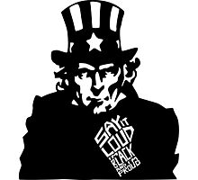 SAY IT LOUD: Uncle Sam is Proud Photographic Print