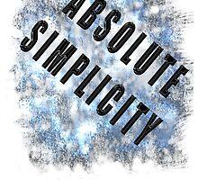 SIMPLICITY!  by James Lewis Hamilton