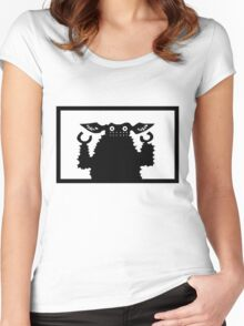 Ultraman Monster Series - Gyango Women's Fitted Scoop T-Shirt