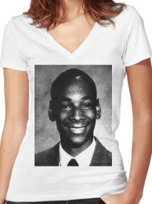 Young Snoop Dogg Women's Fitted V-Neck T-Shirt