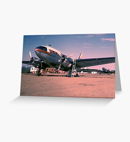 Arctic Air Service-1955 Greeting Card