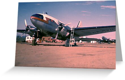 Arctic Air Service-1955 by George Cousins