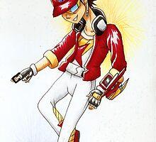 Konami-kun the Legendary Zexal Duelist by Fanmanga96