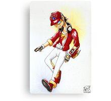 Konami-kun the Legendary Zexal Duelist Canvas Print