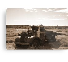 It Stopped! Metal Print