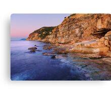 Dawn light on Bau Rouge beach Canvas Print