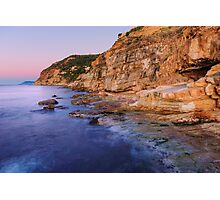 Dawn light on Bau Rouge beach Photographic Print