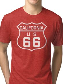 Route 66 California Tri-blend T-Shirt