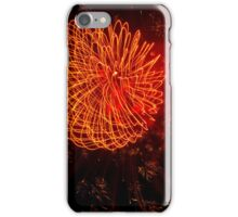 Fireworks in Abstract 02 iPhone Case/Skin