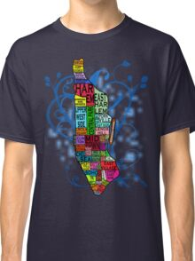 Color Coded Manhattan Classic T-Shirt