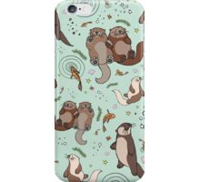 Sea Otters iPhone Case/Skin