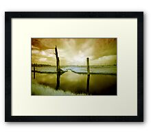 The World I Know Framed Print