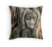 Buddha roots Throw Pillow