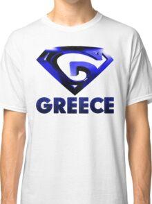 """""""G"""" Shield - Greece Classic T-Shirt"""