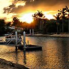 Noosa Sands sunset by andreisky