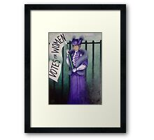 The Suffering Framed Print