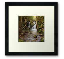 Durand waterfall Framed Print