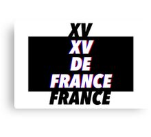 XV DE FRANCE Canvas Print