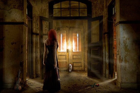 Silent Violin by Cliff Vestergaard