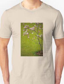 Vibrant pink Magnolia blossoms  Unisex T-Shirt