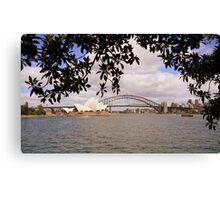 Sydney sider Canvas Print