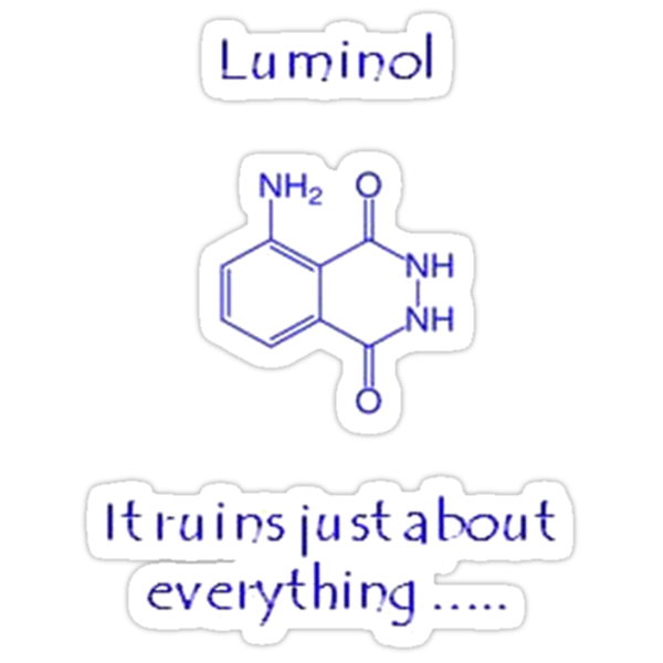 Luminol: It Ruins Just About Everything by taiche