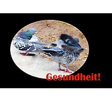 Gesundheit! © Photographic Print