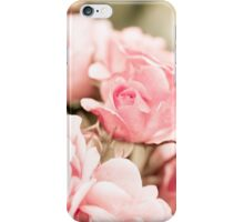 Vintage roses bouquet sepia toned iPhone Case/Skin