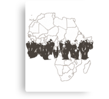 Elephant africa Canvas Print