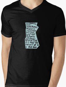 My Problem Mens V-Neck T-Shirt