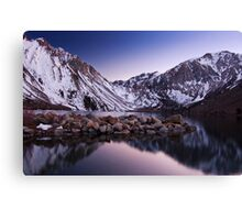 Last Light, Convict Lake Canvas Print