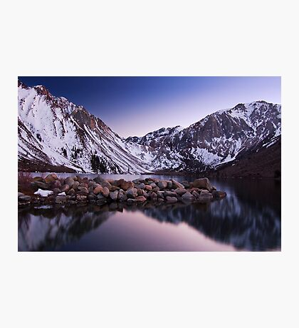 Last Light, Convict Lake Photographic Print