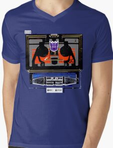 Vintage Soundwave Mens V-Neck T-Shirt