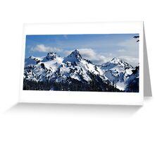The Tatoosh Mountains Greeting Card