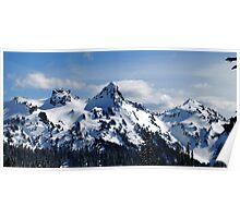 The Tatoosh Mountains Poster
