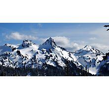 The Tatoosh Mountains Photographic Print