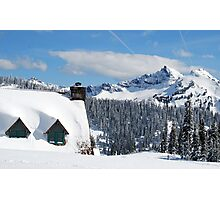 The Lodge at Paradise Photographic Print
