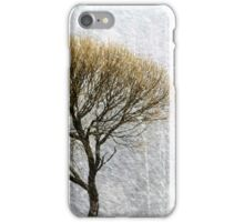 14.4.2015: Lonely Tree in Springtime Blizzard II iPhone Case/Skin