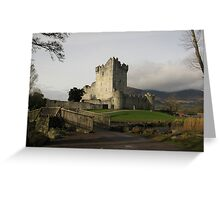 Early morning at Ross Castle Greeting Card
