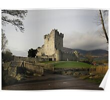 Early morning at Ross Castle Poster