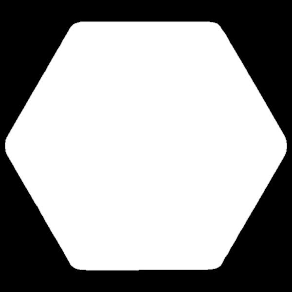 Tri Circle - White by RetroLogos