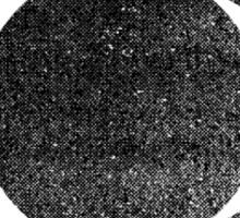 Tri Circle - Black Sticker