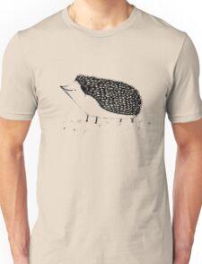 Monochrome Hedgehog Unisex T-Shirt