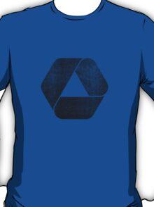 Overlap - Black T-Shirt