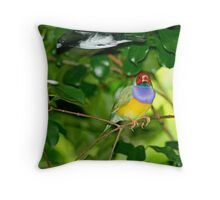 Watch where you're flying mate... Throw Pillow
