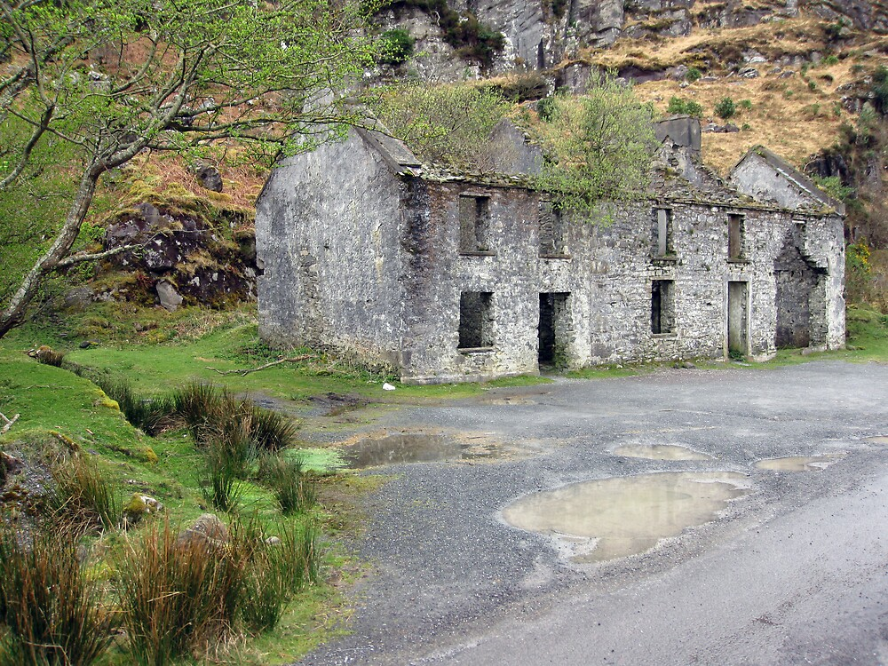 Gap of Dunloe cottage by John Quinn