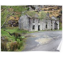Gap of Dunloe cottage Poster