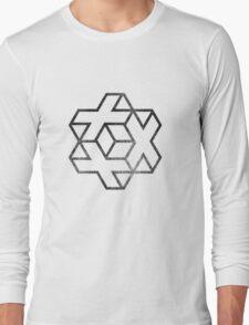 IsoCross - Black  Long Sleeve T-Shirt