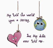 She Had The World - Purple Dark by Playmate